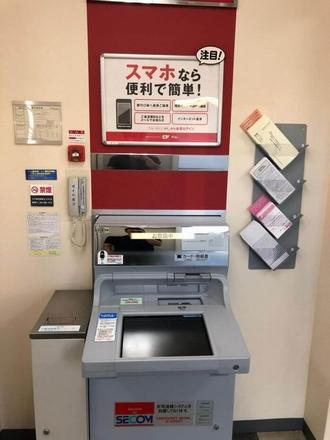アコムの専用ATM(無人店舗内)