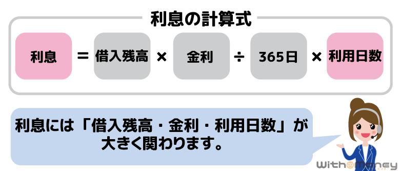 利息の計算式