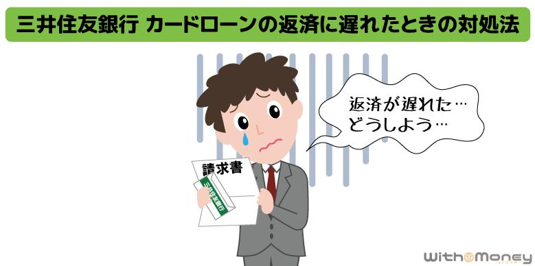 三井住友銀行 カードローンの返済に遅れたときの対処法